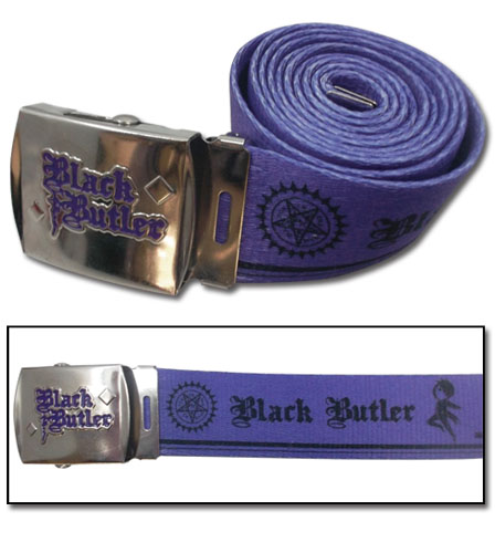 Black Butler - Sebastian Fabric Belt, an officially licensed product in our Black Butler Belts & Buckles department.