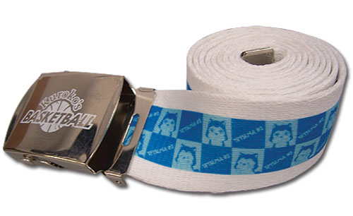 Kuroko's Basketball - Tetsuya #2 Fabric Belt, an officially licensed Kuroko'S Basketball product at B.A. Toys.