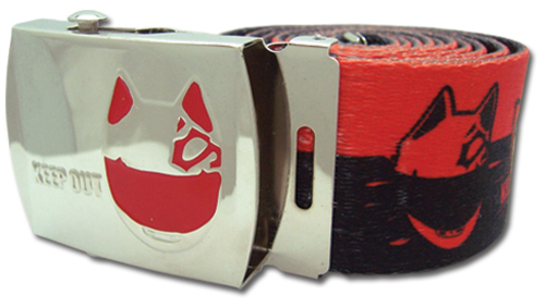 Durarara - Celty Helmet Fabric Belt officially licensed Durarara!! Belts & Buckles product at B.A. Toys.