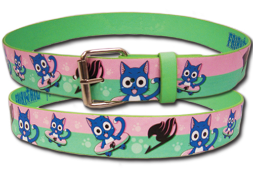 Fairy Tail - Happy Pu Belt L, an officially licensed product in our Fairy Tail Belts & Buckles department.