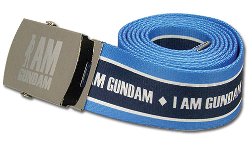 Gundam 00 - I Am Gundam Fabric Belt, an officially licensed product in our Gundam 00 Belts & Buckles department.