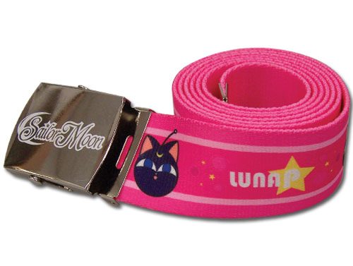 Sailor Moon - Luna P Fabric Belt, an officially licensed product in our Sailor Moon Belts & Buckles department.