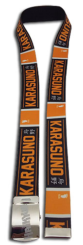 Haikyu!! - Karasuno Fabric Belt, an officially licensed Haikyu!! product at B.A. Toys.