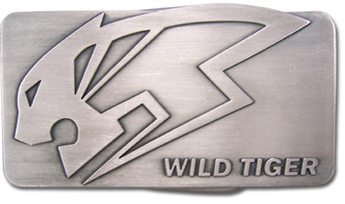 Tiger & Bunny Wild Tiger Logo Belt Buckle officially licensed product at B.A. Toys.