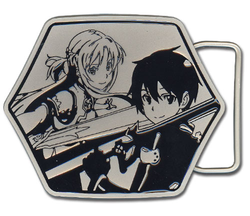 Sword Art Online - Kirito & Asuna Belt Buckle, an officially licensed product in our Sword Art Online Belts & Buckles department.