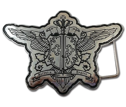 Black Butler - Phantomhive Symbol Belt Buckle, an officially licensed Black Butler product at B.A. Toys.