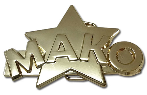 Kill La Kill - Mako's Ring Belt Buckle, an officially licensed product in our Kill La Kill Belts & Buckles department.