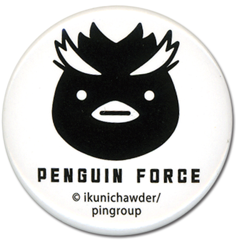 Penguin Drum - Penguin Force Button 1.25