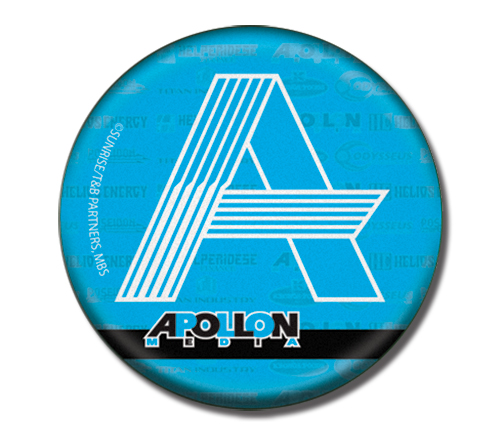 Tiger & Bunny - Apollon 3'' Button officially licensed product at B.A. Toys.