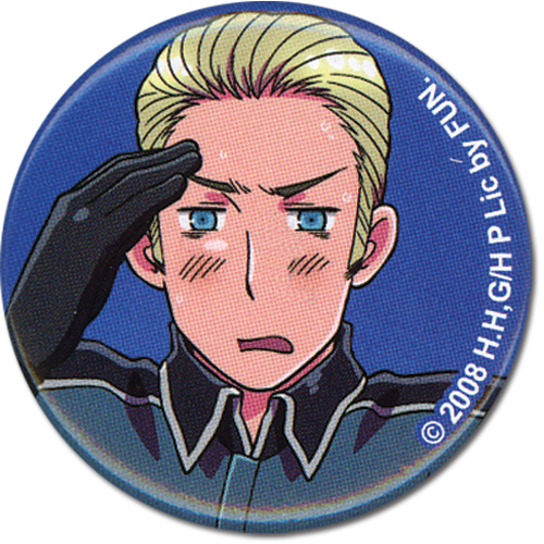 Hetalia Germany Button officially licensed product at B.A. Toys.