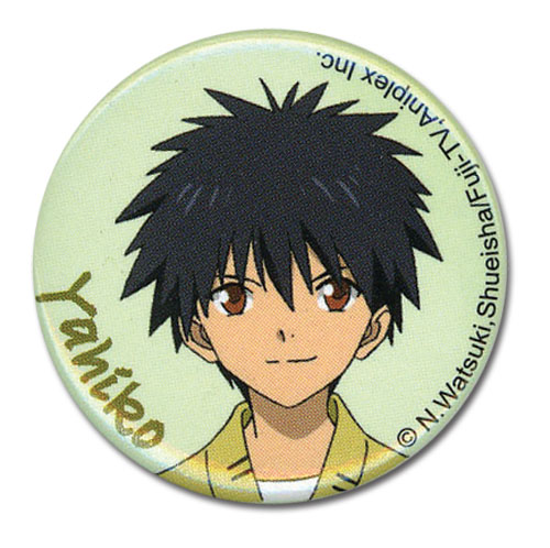 Rurouni Kenshin Ova Yahiko 1.25'' Button, an officially licensed product in our Rurouni Kenshin Ova Buttons department.