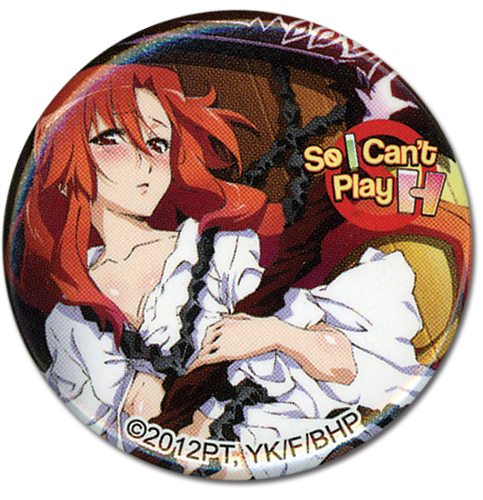 So I Can'T Play H - Lisara Button 1.25'', an officially licensed product in our Everything Else Buttons department.
