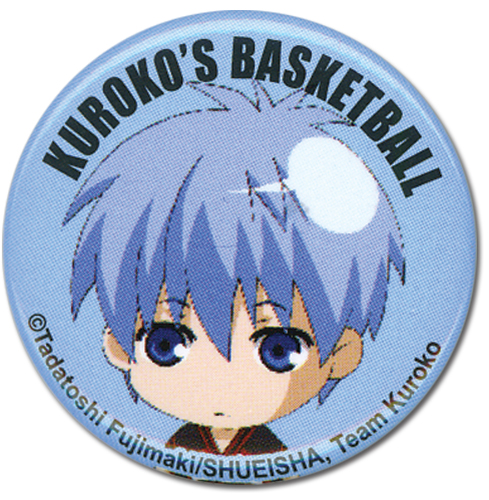 Kuroko's Basketball - Kuroko Button 1.25'', an officially licensed product in our Kuroko'S Basketball Buttons department.