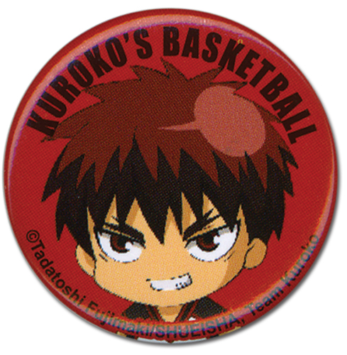 Kuroko's Basketball - Kagami Button 1.25'', an officially licensed product in our Kuroko'S Basketball Buttons department.