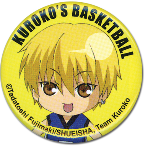 Kuroko's Basletball - Kise Button 1.25'' officially licensed Kuroko'S Basketball Buttons product at B.A. Toys.