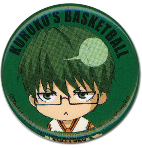 Kuroko's Basketball - Midorima Button 1.25'' officially licensed Kuroko'S Basketball Buttons product at B.A. Toys.
