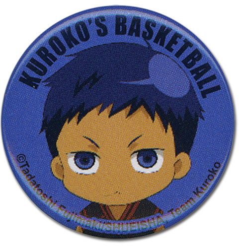 Kuroko's Basketball - Daiki Button 1.25'' officially licensed Kuroko'S Basketball Buttons product at B.A. Toys.