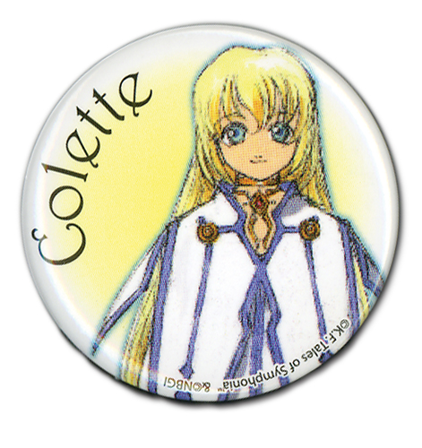 Tales Of Symphonia - Colette Button 1.25'', an officially licensed product in our Tales Of Symphonia Buttons department.