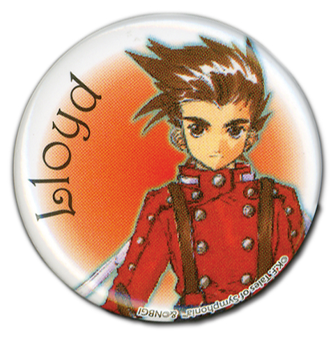Tales Of Symphonia - Lloyd Button 1.25'', an officially licensed product in our Tales Of Symphonia Buttons department.