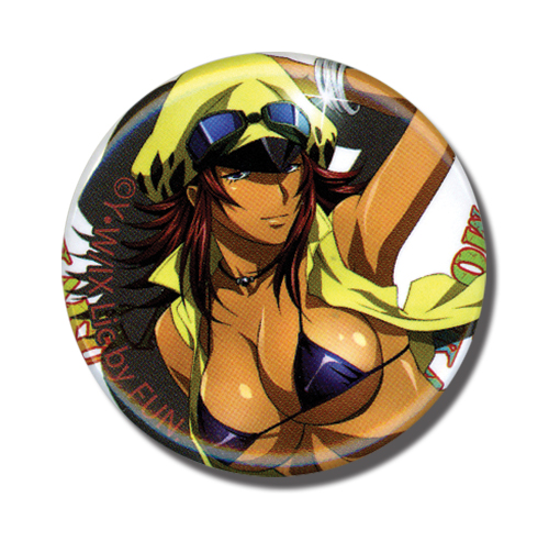 Ikki Tousen Xx - Moukaku Button, an officially licensed Ikki Tousen Xx product at B.A. Toys.