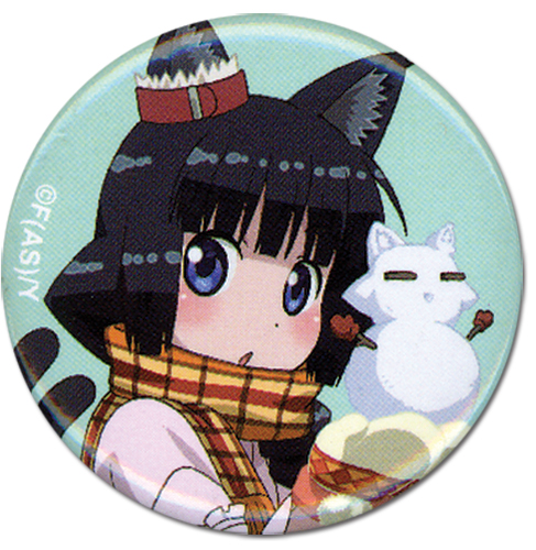 Cat God - Sasana Button 1.25'', an officially licensed Cat Dog Button
