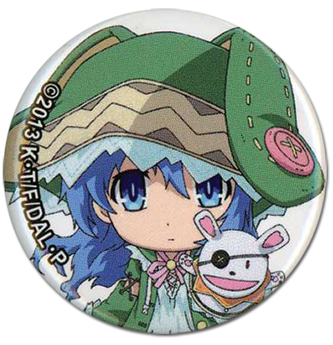 Date A Live - Yoshino Button, an officially licensed product in our Date A Live Buttons department.