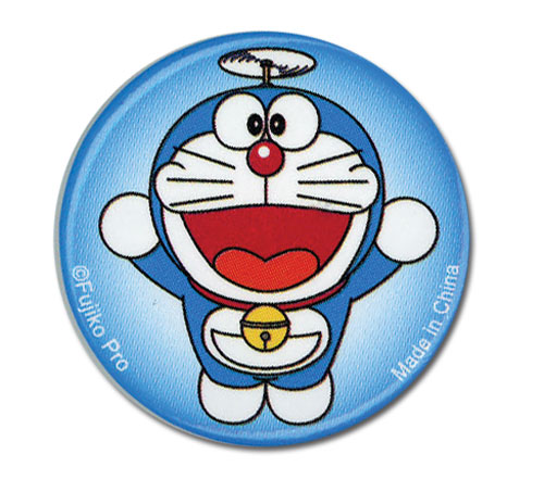 Doraemon - Doraemon Flying Button 1.25'', an officially licensed Doraemon product at B.A. Toys.