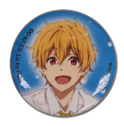 Free! 2 - Nagisa Button officially licensed Free! Buttons product at B.A. Toys.