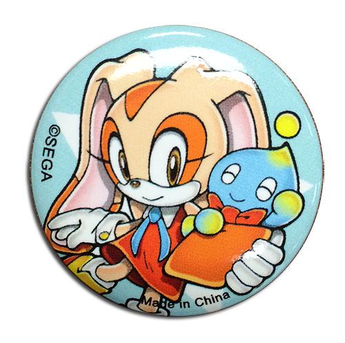 Sonic The Hedgehog - Cream & Chao 1.25'' Button