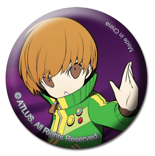 Persona Q - Chie Button 1.25'' officially licensed Persona Buttons product at B.A. Toys.