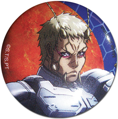 Terra Formars - Tin Button, an officially licensed product in our Terra Formars Buttons department.
