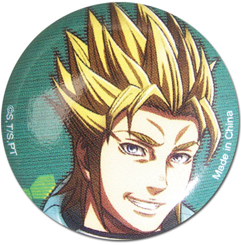 Terra Formars - Marcos Button, an officially licensed Terra Formars product at B.A. Toys.