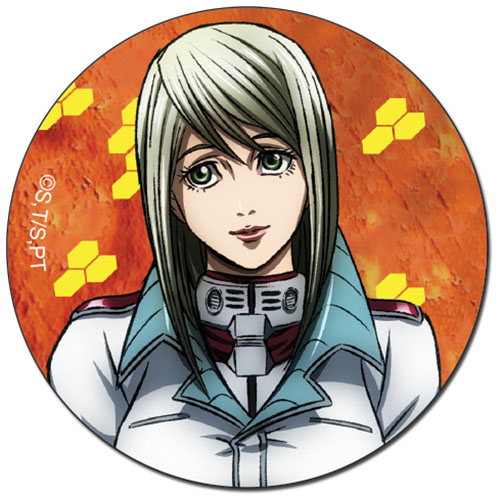 Terra Formars - Eva Button officially licensed Terra Formars Buttons product at B.A. Toys.