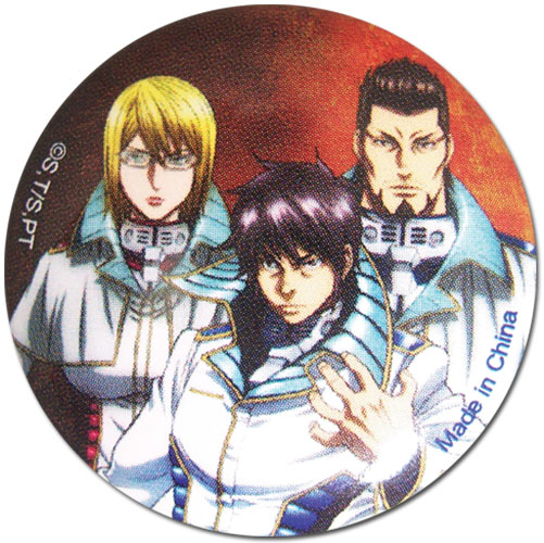 Terra Formars - Group 1 Button, an officially licensed product in our Terra Formars Buttons department.