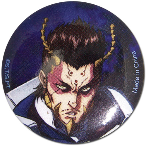 Terra Formars - Shokichi Button officially licensed Terra Formars Buttons product at B.A. Toys.