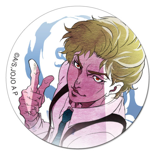 Jojo - Dio 1.25'' Button officially licensed Jojo'S Bizarre Adventure Buttons product at B.A. Toys.