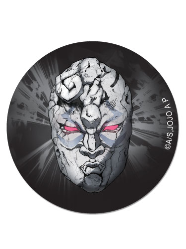 Jojo's Bizarre Adevnture - Mask Button officially licensed Jojo'S Bizarre Adventure Buttons product at B.A. Toys.