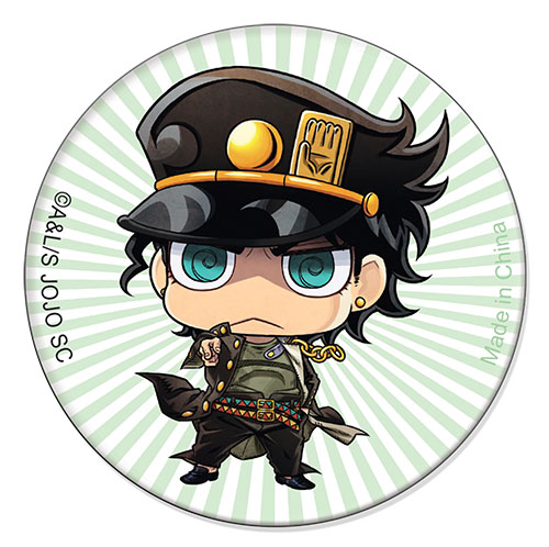 Jojo - Jonathan Green Stripe 1.25'' Button officially licensed Jojo'S Bizarre Adventure Buttons product at B.A. Toys.