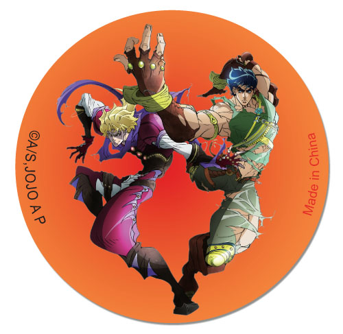 Jojo - Jonathan & Dio Button, an officially licensed product in our Jojo'S Bizarre Adventure Buttons department.