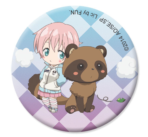 Soul Eater Not! - Kim Sd Button 1.25'', an officially licensed product in our Soul Eater Not! Buttons department.