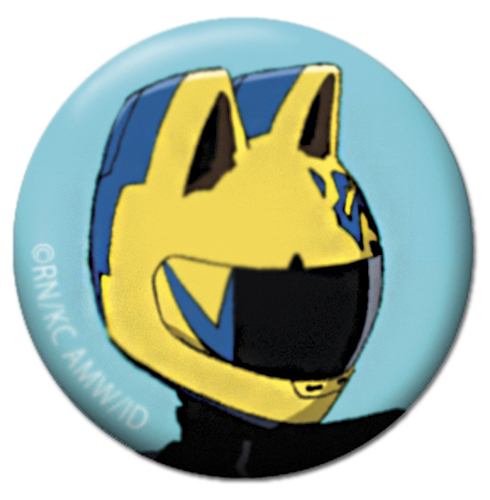 Durarara!! - Celty Button 1.25'', an officially licensed product in our Durarara!! Buttons department.