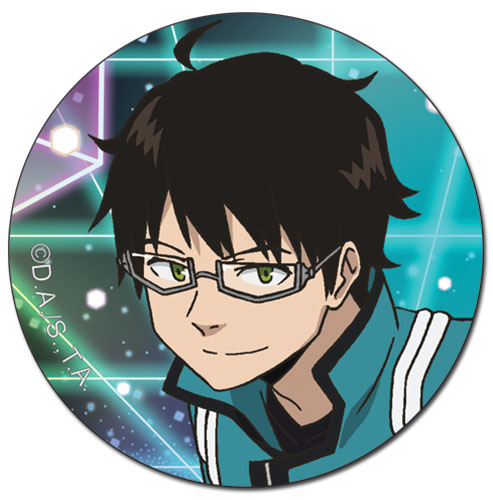 World Trigger - Osamu Button 1.5'' officially licensed World Trigger Buttons product at B.A. Toys.