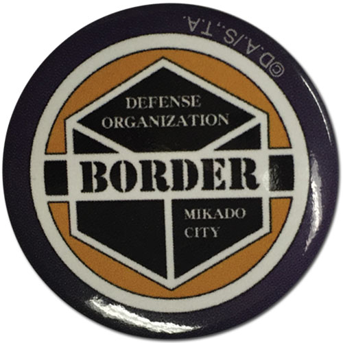 World Trigger - Border Emblem 1.25'' Button officially licensed World Trigger Buttons product at B.A. Toys.