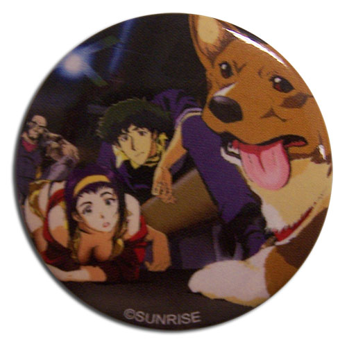Cowboy Bebop - Group Button officially licensed Cowboy Bebop Buttons product at B.A. Toys.
