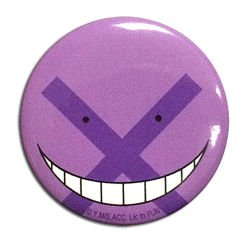 Assassination Classroom - Korosensei Incorrect Answer Button, an officially licensed product in our Assassination Classroom Buttons department.
