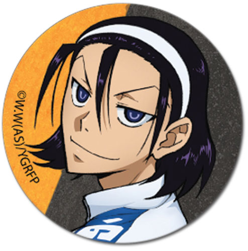 Yowamushi Pedal Gr - Toudou Button officially licensed Yowamushi Pedal Buttons product at B.A. Toys.