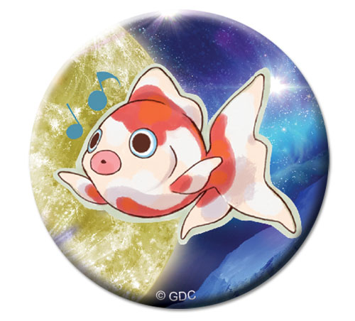 Galilei Donna - Goldfish Button 1.25, an officially licensed Galilei Donna product at B.A. Toys.