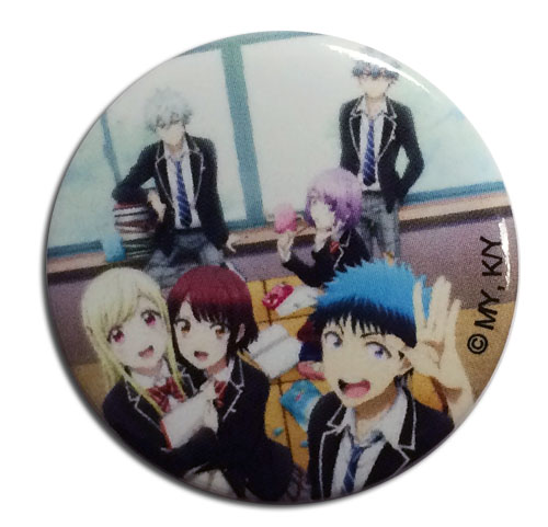 Yamada Kun - Classroom 1.25'' Button, an officially licensed Yamada-Kun And The Seven Witches product at B.A. Toys.
