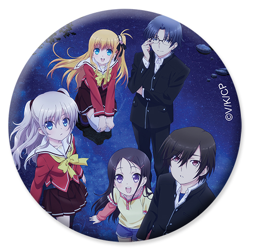 Charlotte - Key Art Button 1.25'' officially licensed Charlotte Buttons product at B.A. Toys.
