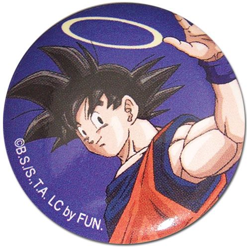 Dragon Ball Z - Goku With Halo 1.25'' Button, an officially licensed product in our Dragon Ball Z Buttons department.